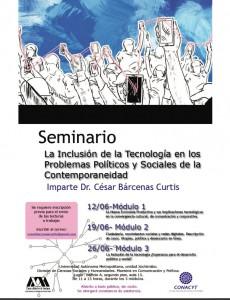 Seminario Cesar Barcenas