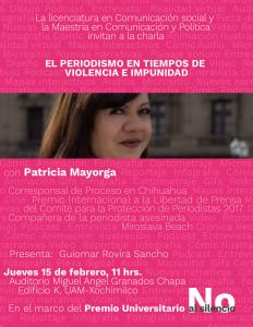 Patricia M UAMX-01
